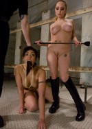 new slave ready for lesbian sex training