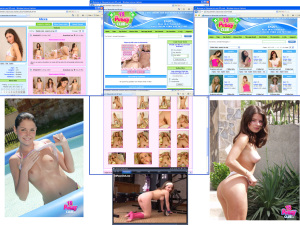 Members area screenshot from 18 Pussy Club - click to enlarge