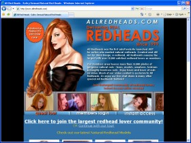 All Redheads Picture screenshot