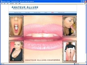 Amateur Allure Picture screenshot