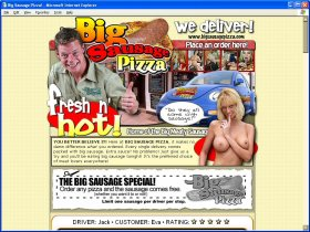 Big Sausage Pizza Picture screenshot