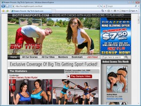 Big Tits in Sports Picture screenshot