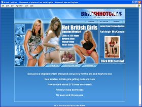British Hot Girls Picture screenshot