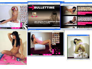 Members area screenshot from Bullettime - click to enlarge