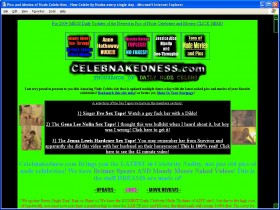 Celeb Nakedness Picture screenshot