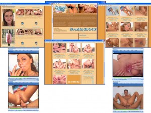 Members area screenshot from Creampie Reality - click to enlarge