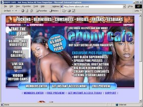 Ebony Cafe Picture screenshot