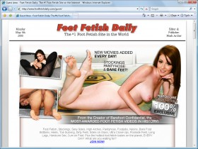 Foot Fetish Daily Picture screenshot