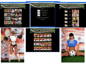 Members area screenshot from Football Babes - click to enlarge