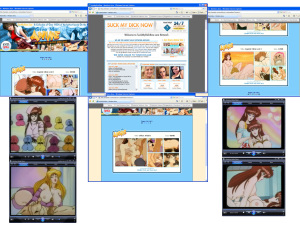 Members area screenshot from Give Me Anime - click to enlarge
