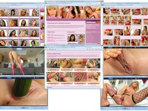 Members area screenshot from Give Me Pink - click to enlarge