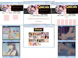 Members area screenshot from Hentai Sex Online - click to enlarge
