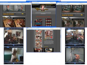 Members area screenshot from Home Voyeur Video - click to enlarge
