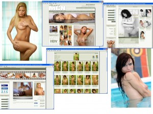 Members area screenshot from MC Nudes - click to enlarge