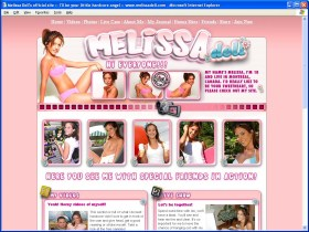 Melissa Doll Picture screenshot