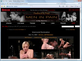 Men in pain Picture screenshot