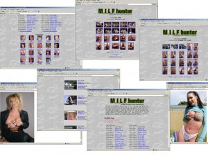 Members area screenshot from MILF Hunter - click to enlarge