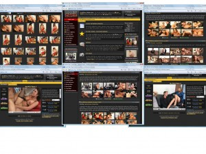 Members area screenshot from My MILF Boss - click to enlarge
