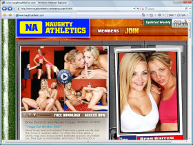 Naughty Athletics Picture screenshot