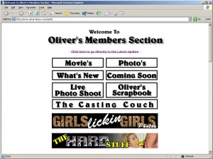 Members area screenshot from Oliver Klozov - click to enlarge