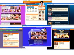 Members area screenshot from Porn Access - click to enlarge