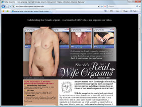 Real Wife Orgasms Picture screenshot
