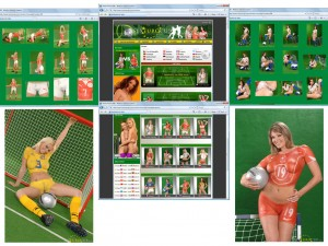 Members area screenshot from Sex Euro Cup - click to enlarge