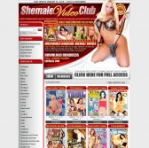 Shemale Video Club screenshot