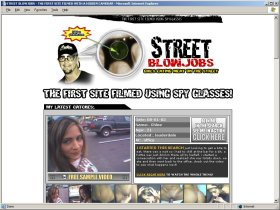 Street Blowjobs Picture screenshot