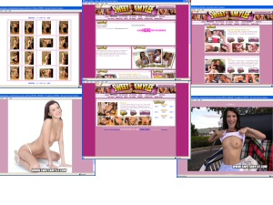 Members area screenshot from Sweet Amy Lee - click to enlarge
