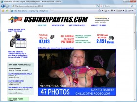 US Biker Parties Picture screenshot
