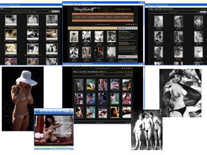 Members area screenshot from Vintage Cuties - click to enlarge