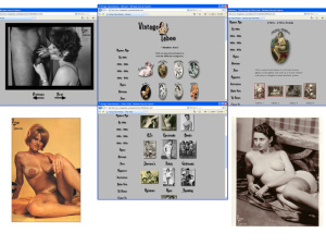 Members area screenshot from Vintage Taboo - click to enlarge