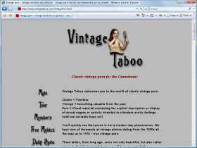Vintage Taboo Picture screenshot
