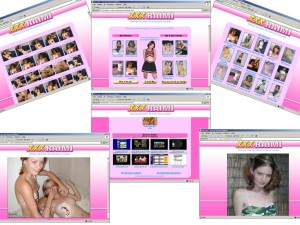 Members area screenshot from XXX Raimi - click to enlarge